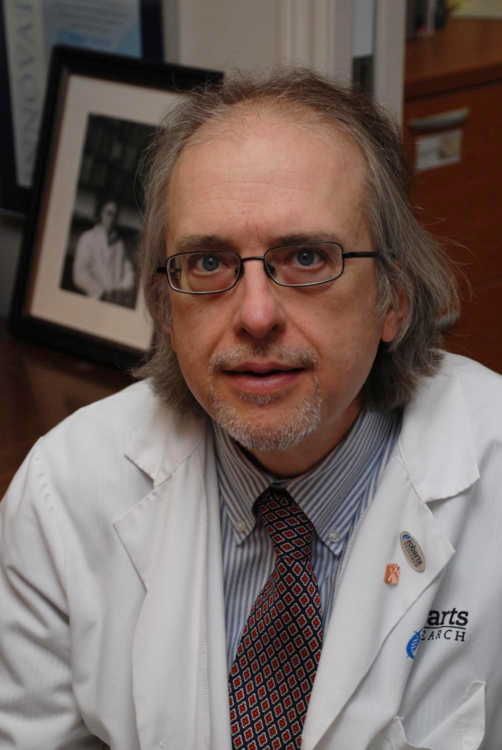 Photo of Dr. Robert Hegele, professor of Medicine and Biochemistry at the University of Western Ontario in Canada.